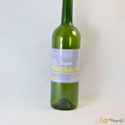 Etiquette de vin Super parrain