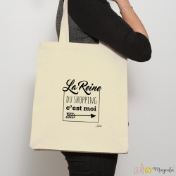 Sac shopping Reine du shopping