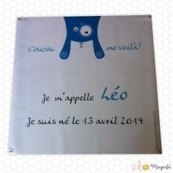 Bâche - Cosmo bleu