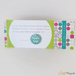 Invitation communion pois