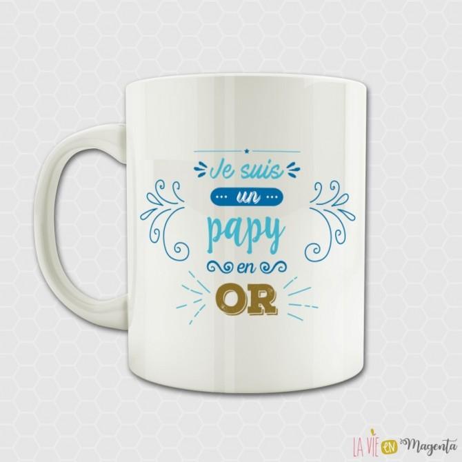 Mug - Je suis un papy en or