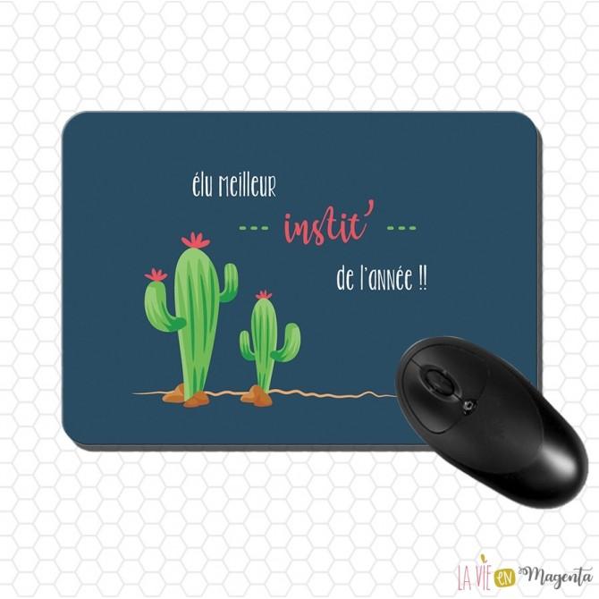 Tapis de souris Instit Cactus