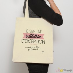 Sac shopping Institutrice d'exception