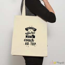 Sac shopping Petites affaires d'une coach au top