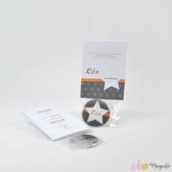 Faire-part Etoile magnet