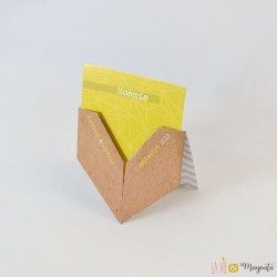 Marque-Place  -  Coeur d'origami