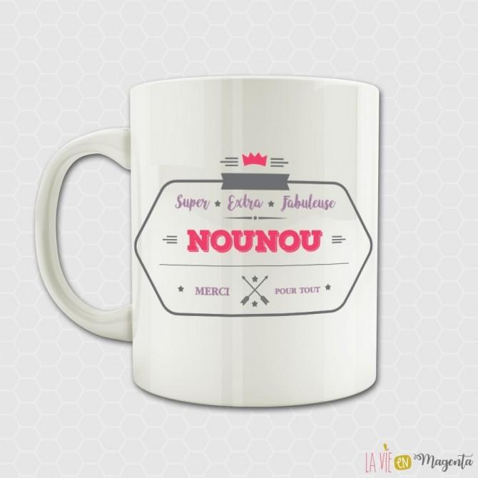 Mug Super nounou
