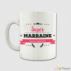 Mug Super marraine élue à l'unanimité