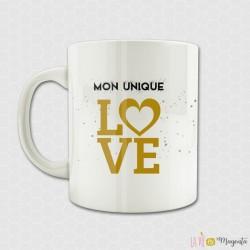 Mug Mon unique Love