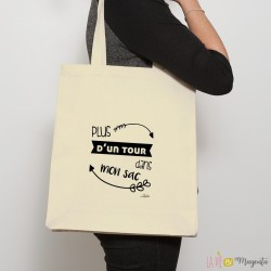 Sac shopping Plus d'un tour dans mon sac