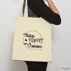 Sac shopping Future mariée