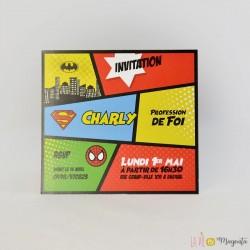 Invitation communion comics