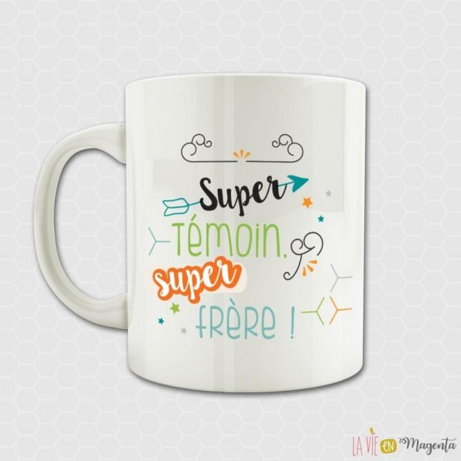 Mug - Super témoin super frère