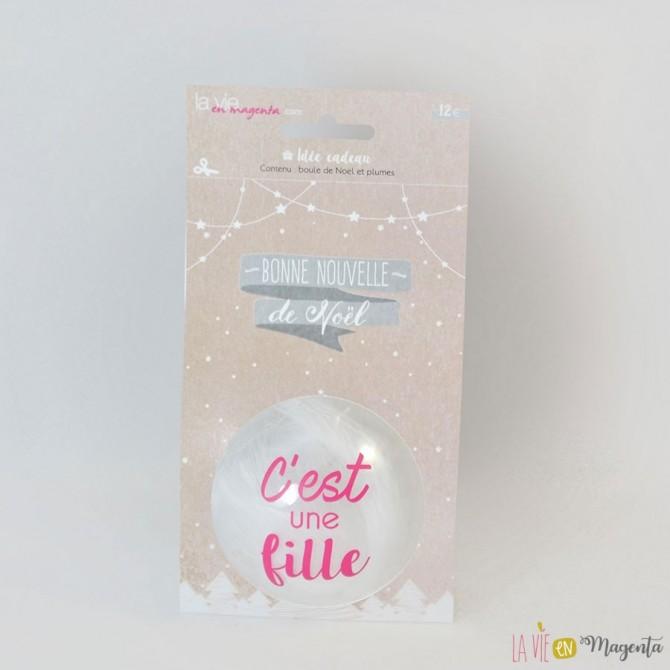 Boule de Noël - Petite fille