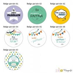 Badges parrain