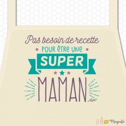 Tablier - Super maman