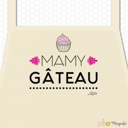 Tablier - Mamy gâteau adulte