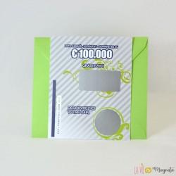 Loterie vert témoin