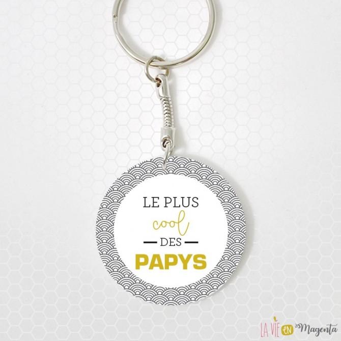 Porte-clés - le plus cool des papys