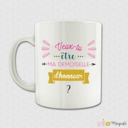 Mug - Veux-tu être ma demoiselle d'honneur