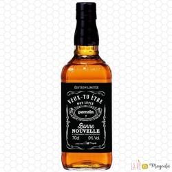 Etiquette bouteille whisky parrain