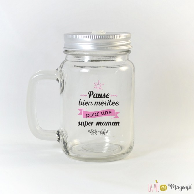 Tasse Mason - Pause bien méritée pour une super maman