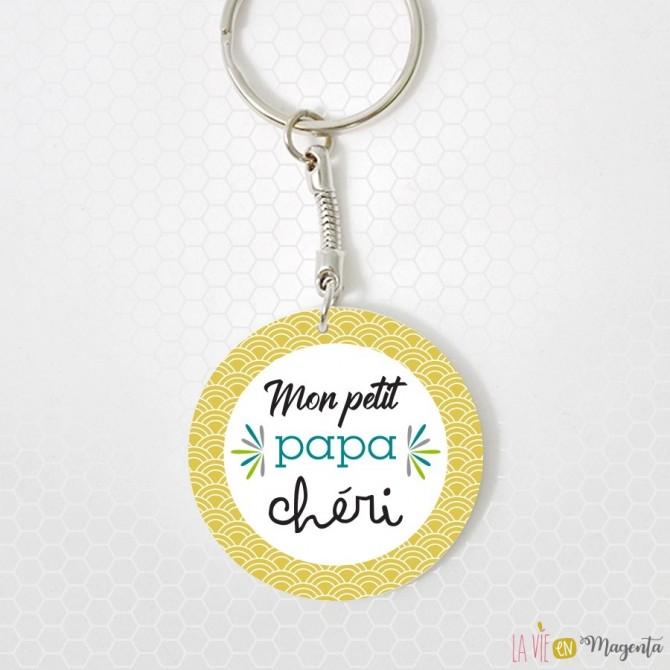 Porte-clés - Mon petit papa chéri