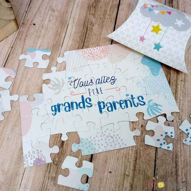 Puzzle Vous allez être grands-parents