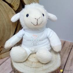 Peluche mouton - informations naissance