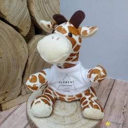 Peluche girafe - informations naissance