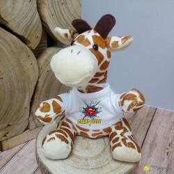 Peluche girafe - Super grand frère