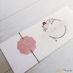 Faire-part Cercle Floral