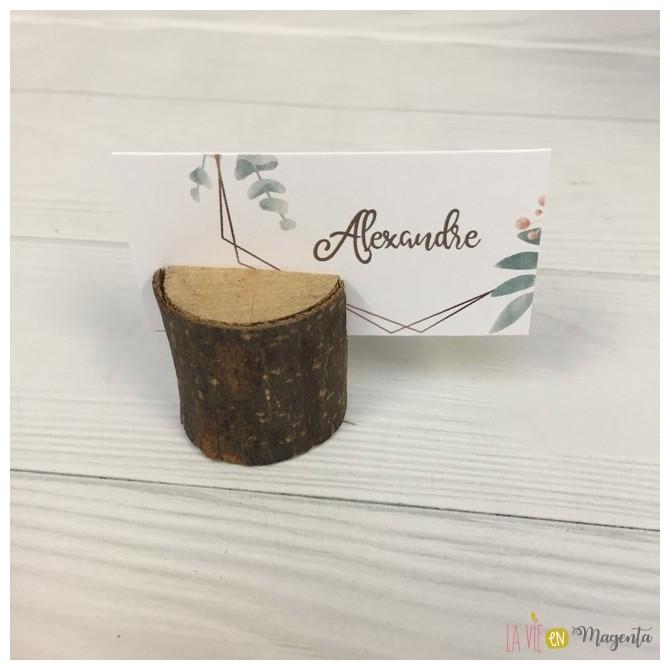 Marque-Place  -  Kraft Eucalyptus