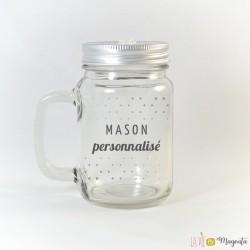 Tasse Mason personnalisée