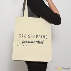 Sac shopping personnalisée