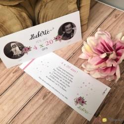 Invitation 4x20 ans