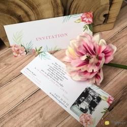 Invitation Fraîcheur florale