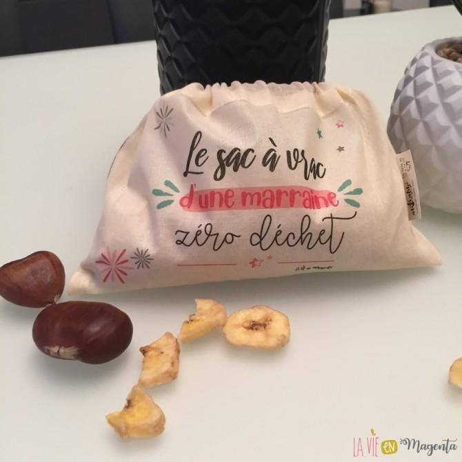 Pack de 3 sacs à vrac - Marraine zéro déchet