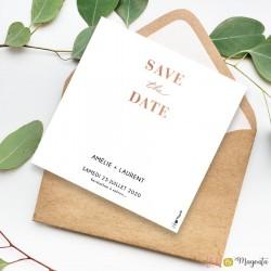 Save the date Numérique - Louise et Antoine