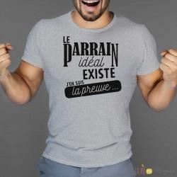 T-shirt Parrain idéal