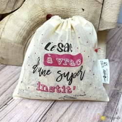 Pack de 3 sacs à vrac - institutrice