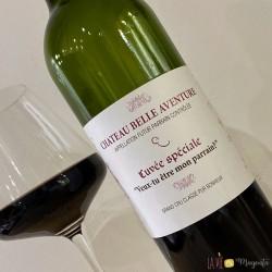 Etiquette de vin veux-tu être mon parrain ?