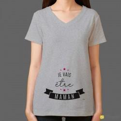 T-shirt Je vais être maman