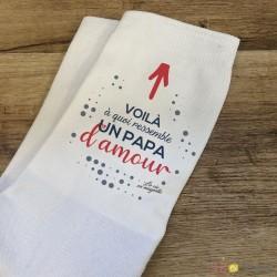 Chaussettes Papa d'amour