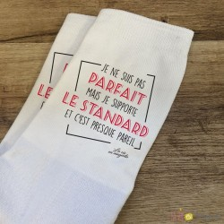 Chaussettes je supporte le standard