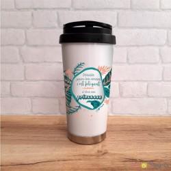 Mug - café a emporter - cernes princesse