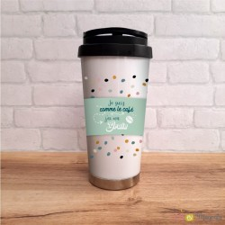 Mug - café à emporter - grain