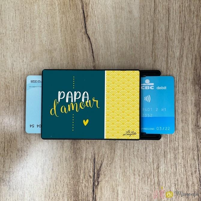 Porte-carte Papa chéri