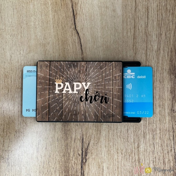 Porte-carte Papy chéri