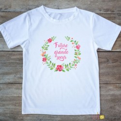 T-shirt Future Grande soeur - dino